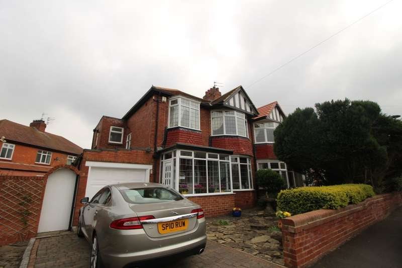 3 Bedrooms Semi Detached House for rent in Polwarth Crescent, Newcastle Upon Tyne, NE3