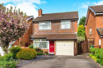 3 Bedrooms Detached House for sale in Convent Close, Little Haywood, Stafford, Staffordshire