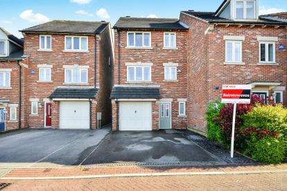 4 Bedrooms Semi Detached House for sale in Butlerwood Close, Kirkby In Ashfield, Nottingham, Nottinghamshire