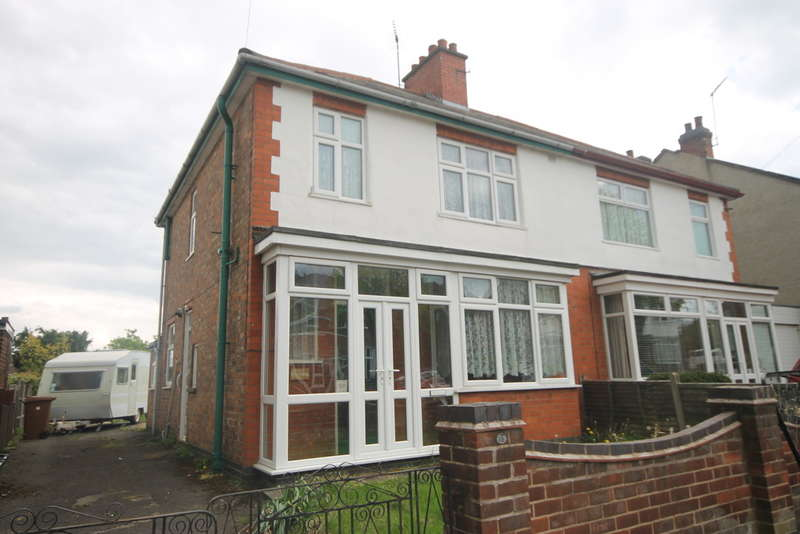 3 Bedrooms Semi Detached House for sale in Teign Bank Road, Hinckley