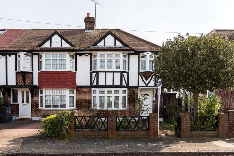 3 Bedrooms Semi Detached House for sale in Cardinal Avenue, Kingston upon Thames, KT2