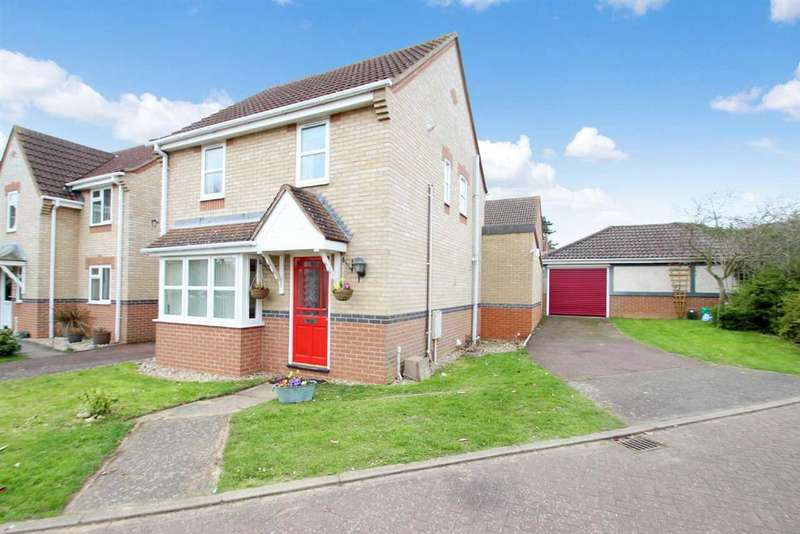3 Bedrooms Detached House for sale in Gostling Place, Grange Farm, Kesgrave, Ipswich