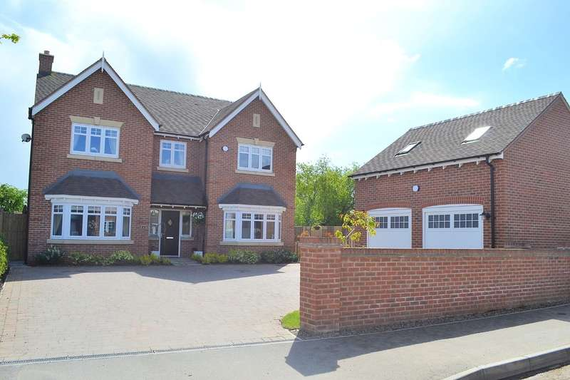 5 Bedrooms Detached House for sale in Causer Road, Barton Under Needwood