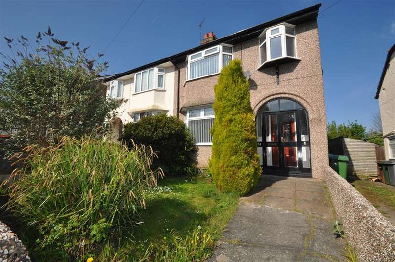 3 Bedrooms Semi Detached House for sale in Raeburn Avenue, West Kirby, Wirral, CH48 5JD