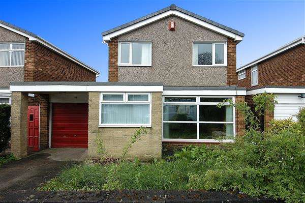 3 Bedrooms Detached House for sale in Selkirk Way, North Shields