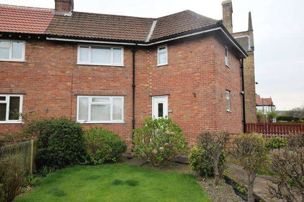 2 Bedrooms Semi Detached House for sale in Colescliffe Road, Scarborough, North Yorkshire YO12 6SB