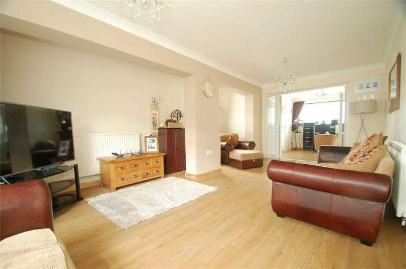 4 Bedrooms End Of Terrace House for sale in Lyall Way, Parkwood, Rainham, Kent