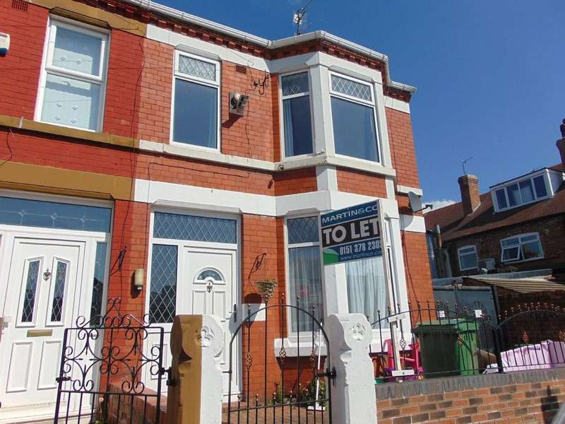 3 Bedrooms End Of Terrace House for rent in Temple Road, Tranmere