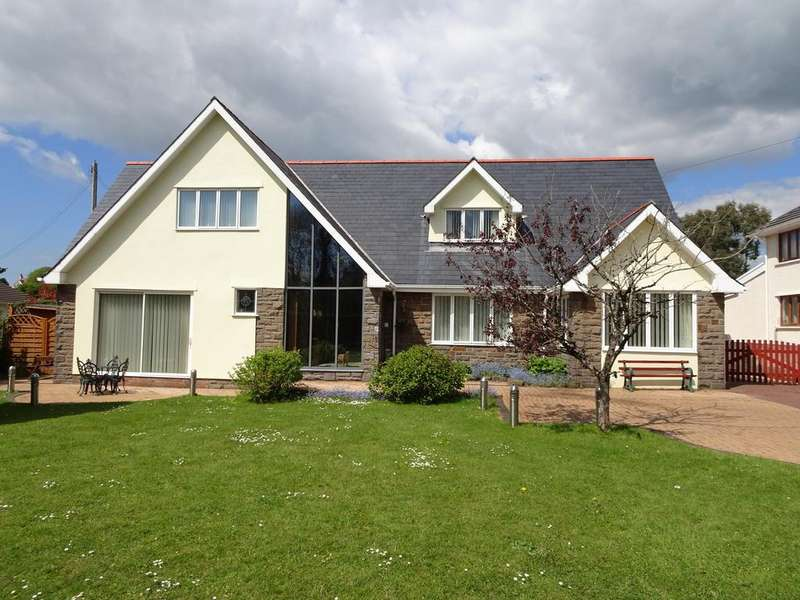 6 Bedrooms Detached House for sale in 'GANDRA', HIGH STREET, LALESTON, BRIDGEND, CF32 0LD
