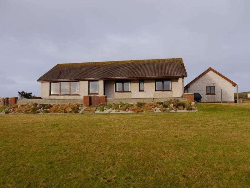 3 Bedrooms Detached Bungalow for sale in Foinhaven, Quoyloo