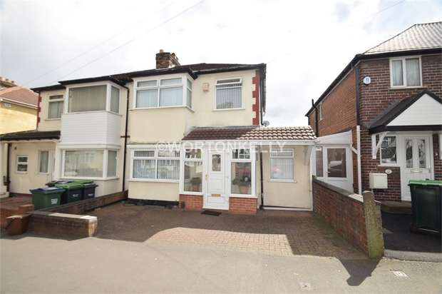 3 Bedrooms Semi Detached House for sale in Hugh Road, SMETHWICK, West Midlands