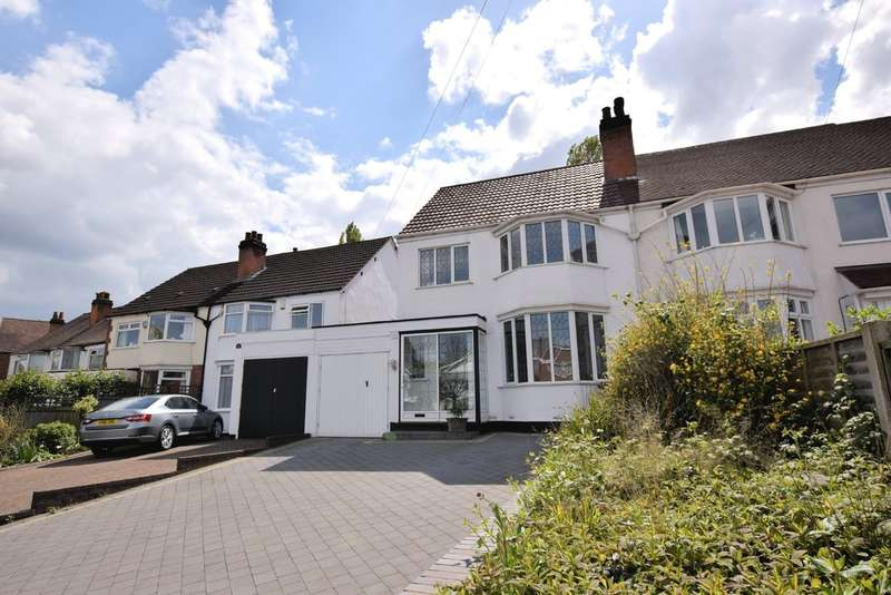 3 Bedrooms Semi Detached House for sale in Ulverley Green Road, Solihull