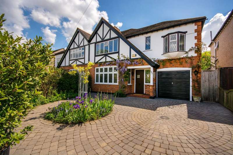 4 Bedrooms Semi Detached House for sale in Banstead Road South, Carshalton Beeches, SM2