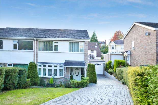3 Bedrooms Semi Detached House for sale in Keyberry Close, Newton Abbot, Devon