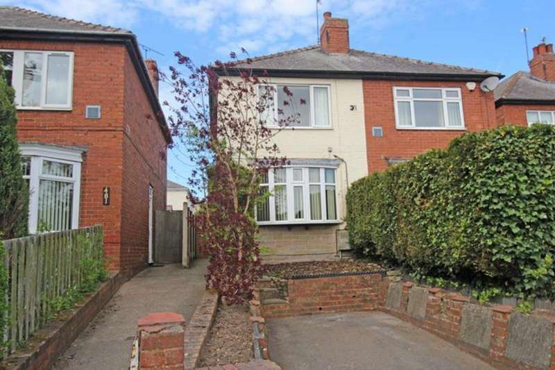 3 Bedrooms Semi Detached House for sale in 483 Gateford Road, Worksop