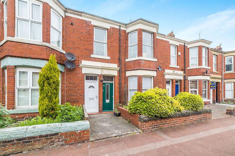 3 Bedrooms Flat for sale in Simonside Terrace, Newcastle Upon Tyne, NE6