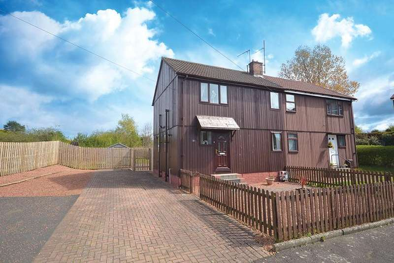3 Bedrooms Semi Detached House for sale in 53 Afton Avenue, Mossblown, KA6 5DY
