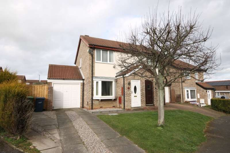 2 Bedrooms Semi Detached House for sale in Turnstone Drive, Washington, NE38