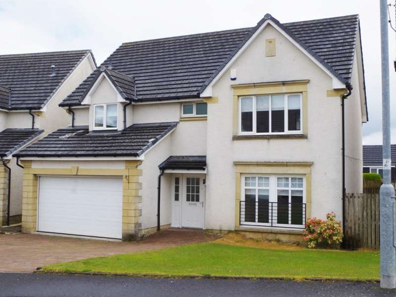 5 Bedrooms Detached Villa House for sale in 6 Crofthill Close, Dalry, KA24 5BD