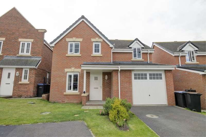 4 Bedrooms Detached House for sale in Arkless Grove, The Grove, Consett, DH8