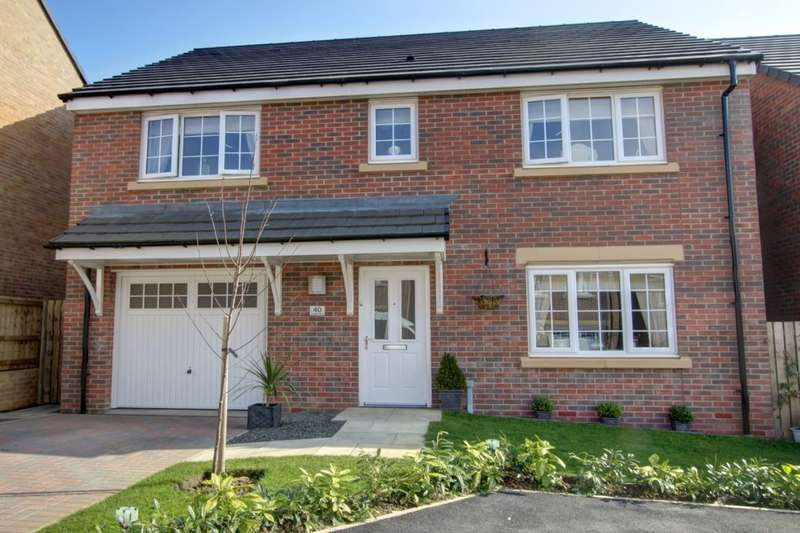 5 Bedrooms Detached House for sale in Cresta View, Lingfield Meadows, Houghton Le Spring, DH5