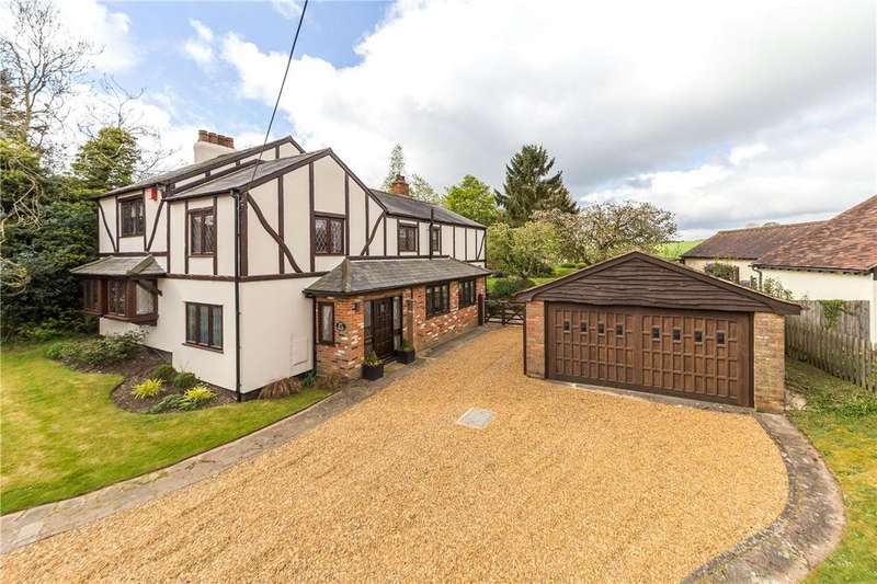 4 Bedrooms Detached House for sale in Pipers Lane, Aley Green, Caddington, Bedfordshire
