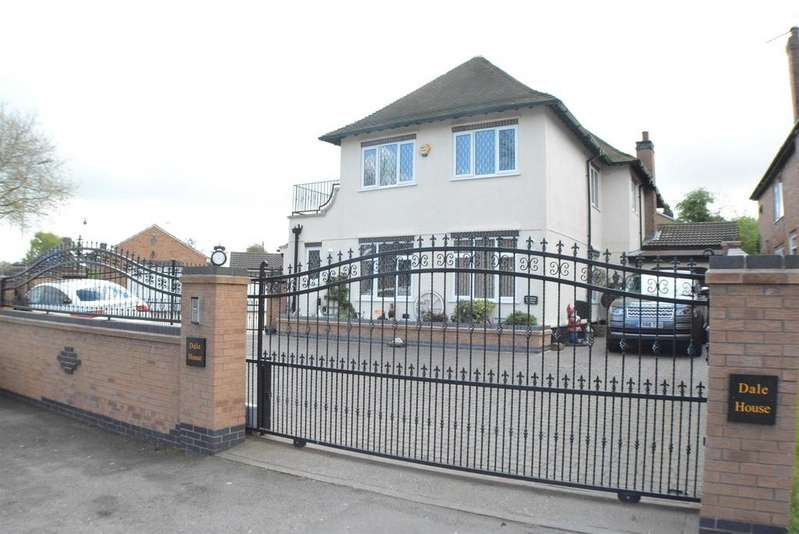 4 Bedrooms Detached House for sale in Dale Lane, Blidworth, Mansfield