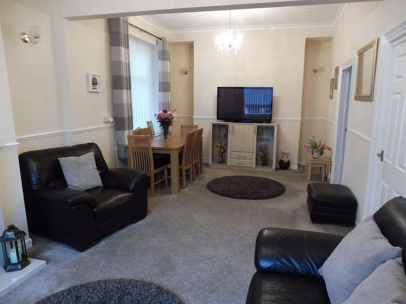 3 Bedrooms Semi Detached House for sale in King Edward Street, Blaengarw, Bridgend