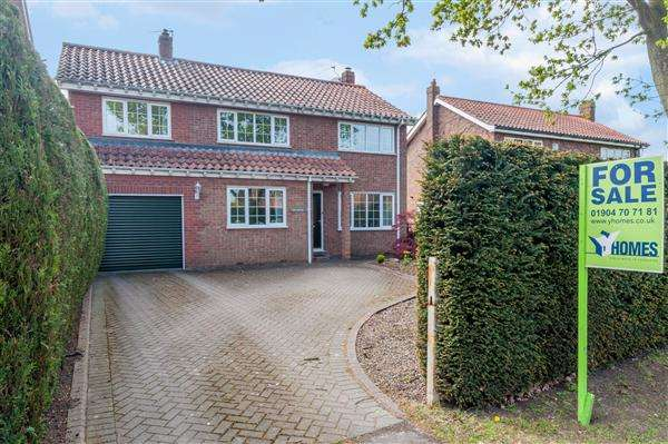 4 Bedrooms Detached House for sale in Oak House, Mill Lane, Acaster Malbis, York