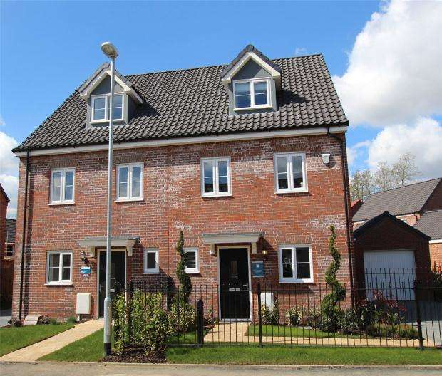 3 Bedrooms Semi Detached House for sale in Saxon Fields, ., Blofield, Norfolk