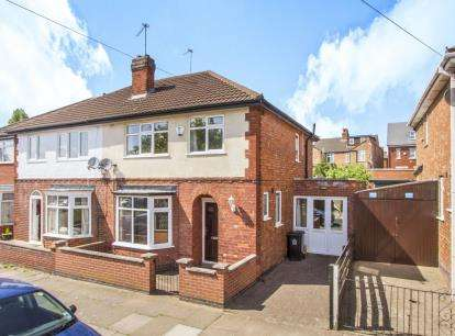 3 Bedrooms Semi Detached House for sale in Greenhill Road, Leicester