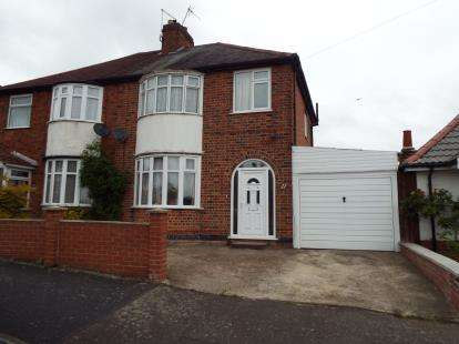 3 Bedrooms Semi Detached House for sale in Braunstone Close, Braunstone Town, Leicester, Leicestershire
