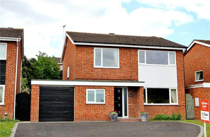 4 Bedrooms Detached House for sale in Allesborough Drive, Pershore, Worcestershire, WR10