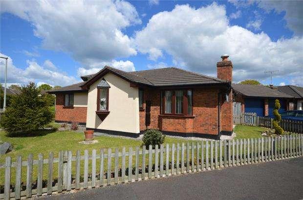 3 Bedrooms Detached Bungalow for sale in Shapley Way, Liverton, Newton Abbot, Devon