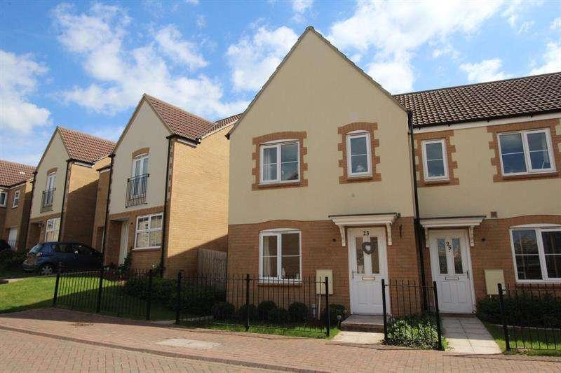 3 Bedrooms End Of Terrace House for sale in Twelve Acres Close, Paulton, Bristol