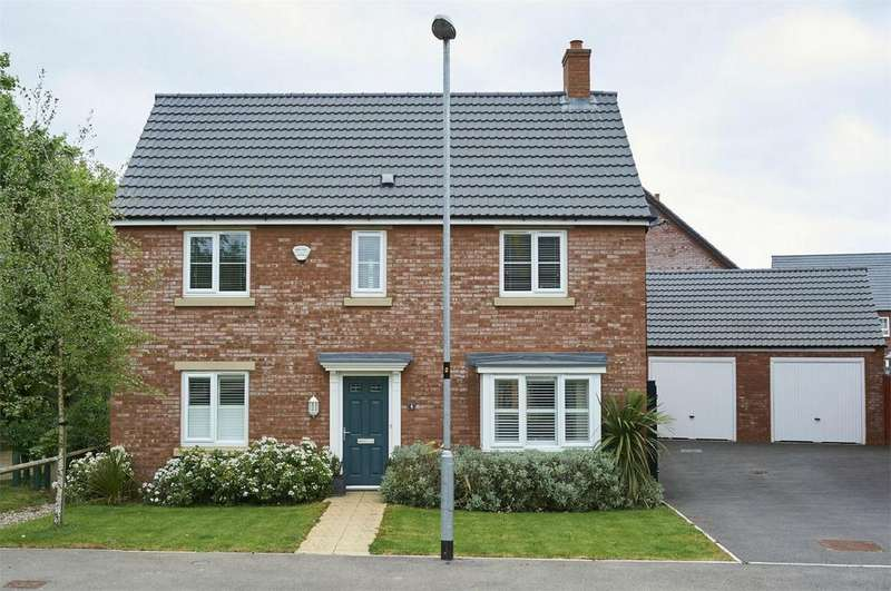 4 Bedrooms Detached House for sale in Charley Close, Market Harborough, Leicestershire