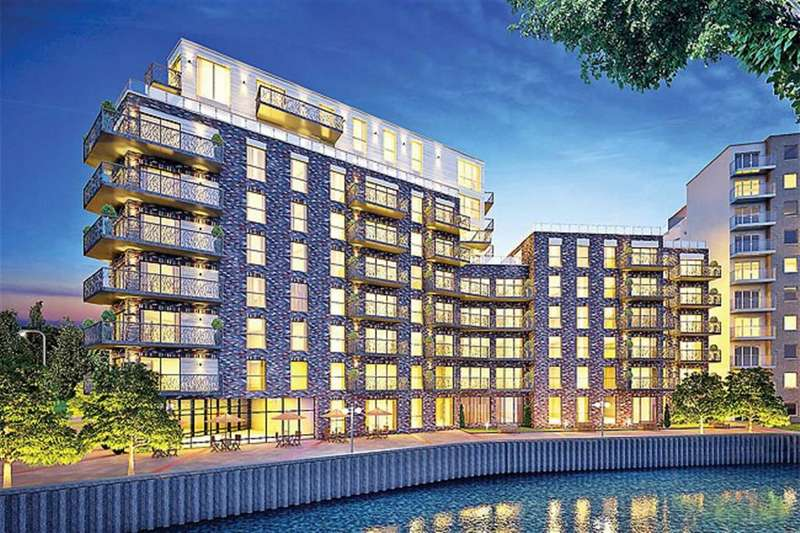 2 Bedrooms Property for sale in Leven Wharf, Docklands, London