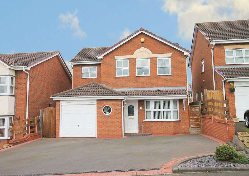 4 Bedrooms Detached House for sale in Seafield, Amington, Tamworth, B77 3QW