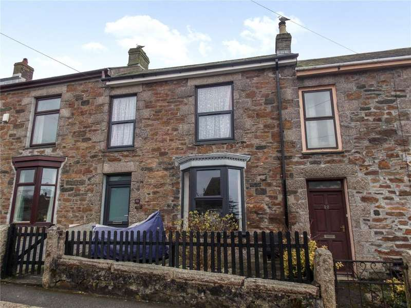 3 Bedrooms Terraced House for sale in Bellevue, Redruth