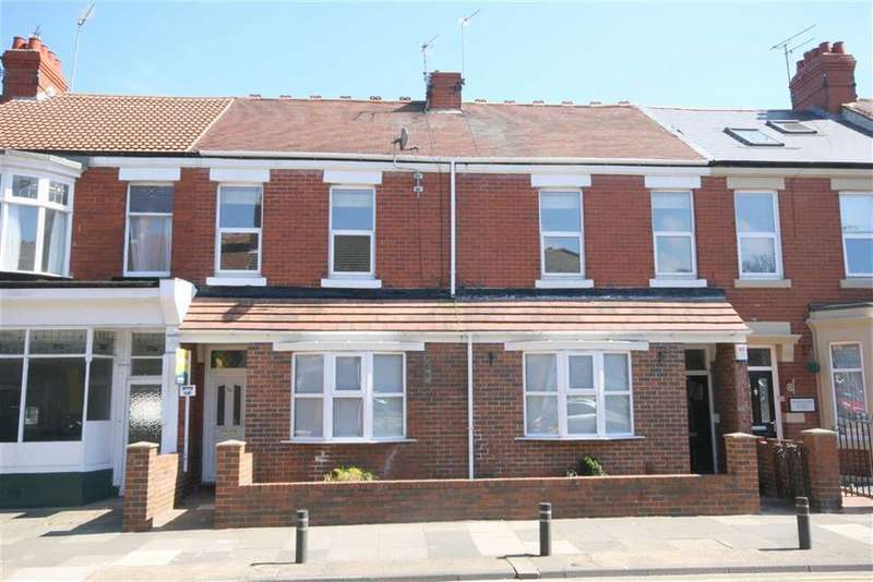2 Bedrooms Flat for sale in Ilfracombe Gardens, Whitley Bay, NE26