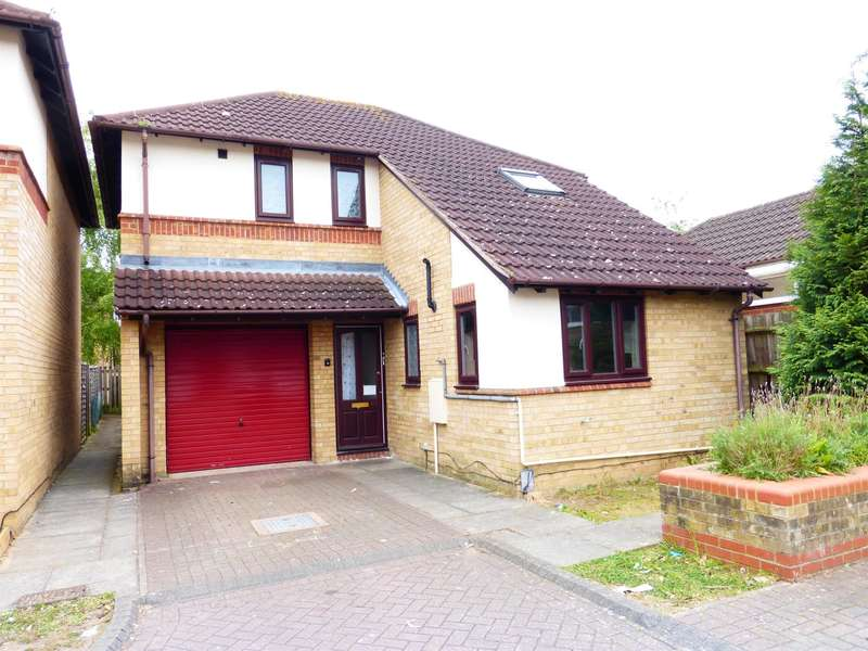 3 Bedrooms Detached House for sale in Hillgrounds Road, Kempston, Bedford, MK42