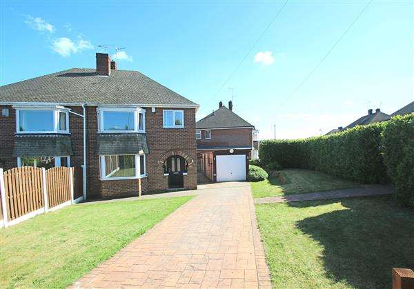 3 Bedrooms Semi Detached House for sale in Cottam Croft, Hemsworth