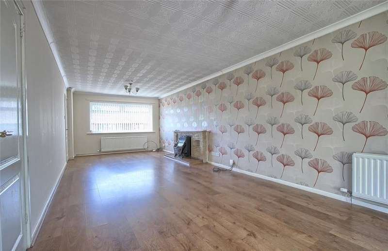 3 Bedrooms Detached Bungalow for sale in Warsett Crescent, Skelton-in-cleveland