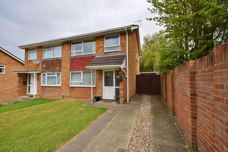3 Bedrooms Semi Detached House for sale in Brighton Hill, Basingstoke, RG22