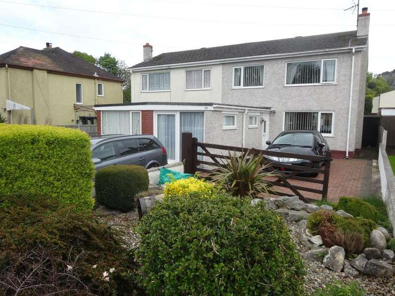 3 Bedrooms Semi Detached House for sale in Station Road, Llanddulas