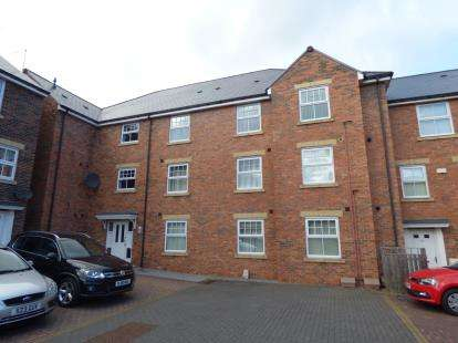2 Bedrooms Flat for sale in Barrington Close, Durham, DH1