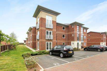 2 Bedrooms Flat for sale in Harrison View, Bailey Avenue, Lytham St. Annes, Lancashire, FY8