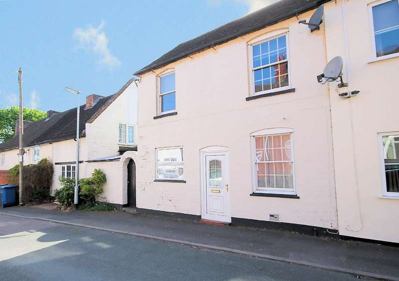 2 Bedrooms Terraced House for sale in Mount Pleasant, Two Gates, Tamworth, B77 1HL