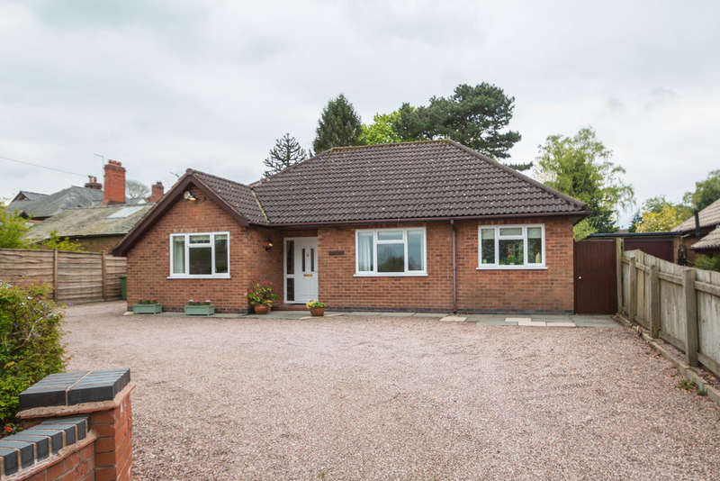 3 Bedrooms Detached Bungalow for sale in Norley Road, Sandiway