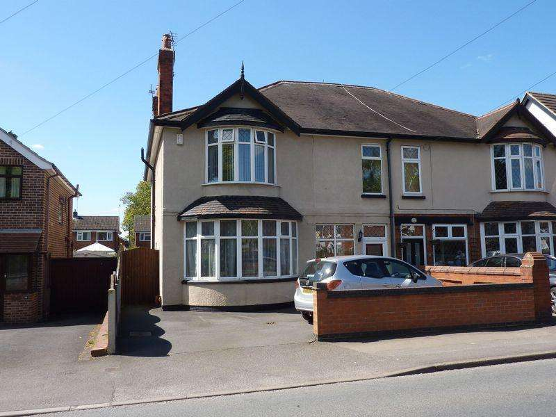 4 Bedrooms Semi Detached House for sale in Station Road Borrowash